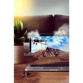 Quadro Surrealista Airplane Notebook