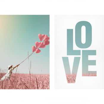 Quadro Decorativo Amor Pure Love