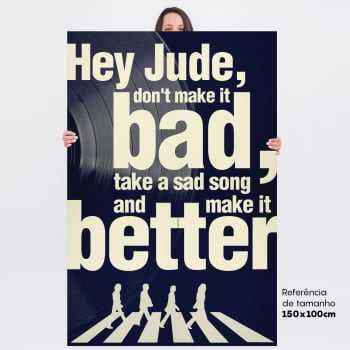 Quadro Hey Jude - The Beatles